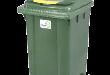 سطل زباله مکانیزه 240 لیتری